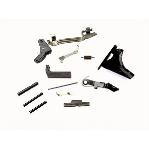 Lone Wolf Enhanced Glock Lower Parts Kit for Full Size - Fits 17, 22, 34  w/ Locking Block