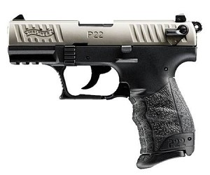 Walther P22 Nickel Two-Tone