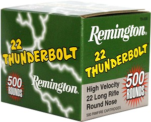 Remington Thunderbolt 22LR Ammo Brick - 500 Rounds