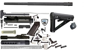 "AR15 Complete 20"" Heavy Barrel HBar Rifle Kit - 5.56 Nato"