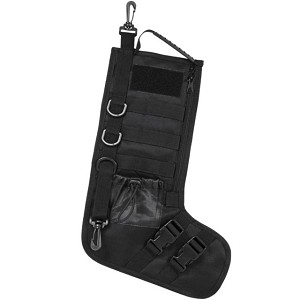 "NC STAR TACTICAL STOCKING HOLIDAY W/ HANDLE BLACK 15""X10.5""X6.5"""