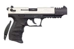 Walther P22 Target Nickel Two-Tone